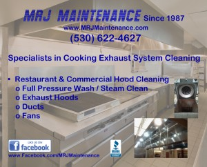 Restaurant-Hood-Cleaning, Commercial-Hood-Cleaning, Sacramento, Northern-California